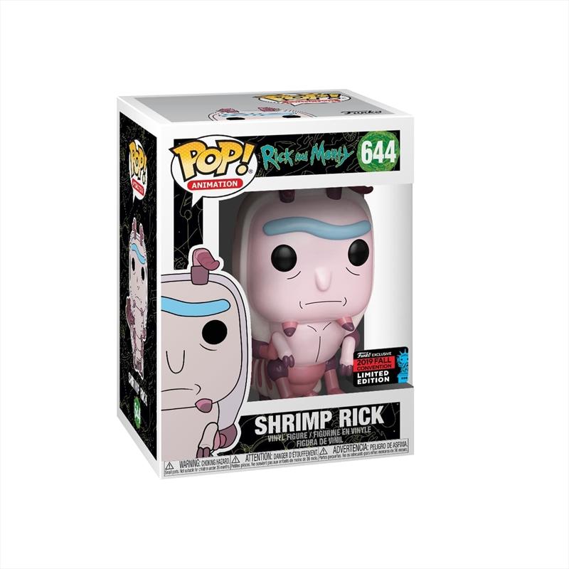 Rick & Morty - Shrimp Rick Pop! NYCC19 RS | Pop Vinyl