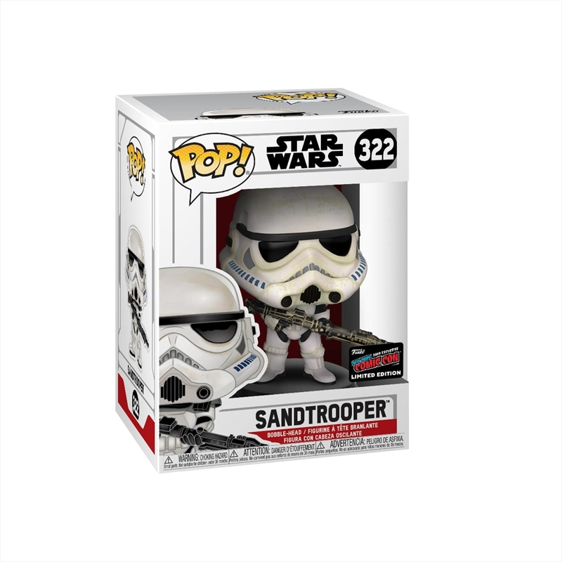 Star Wars - Sandtrooper Pop! NYCC19 RS | Pop Vinyl