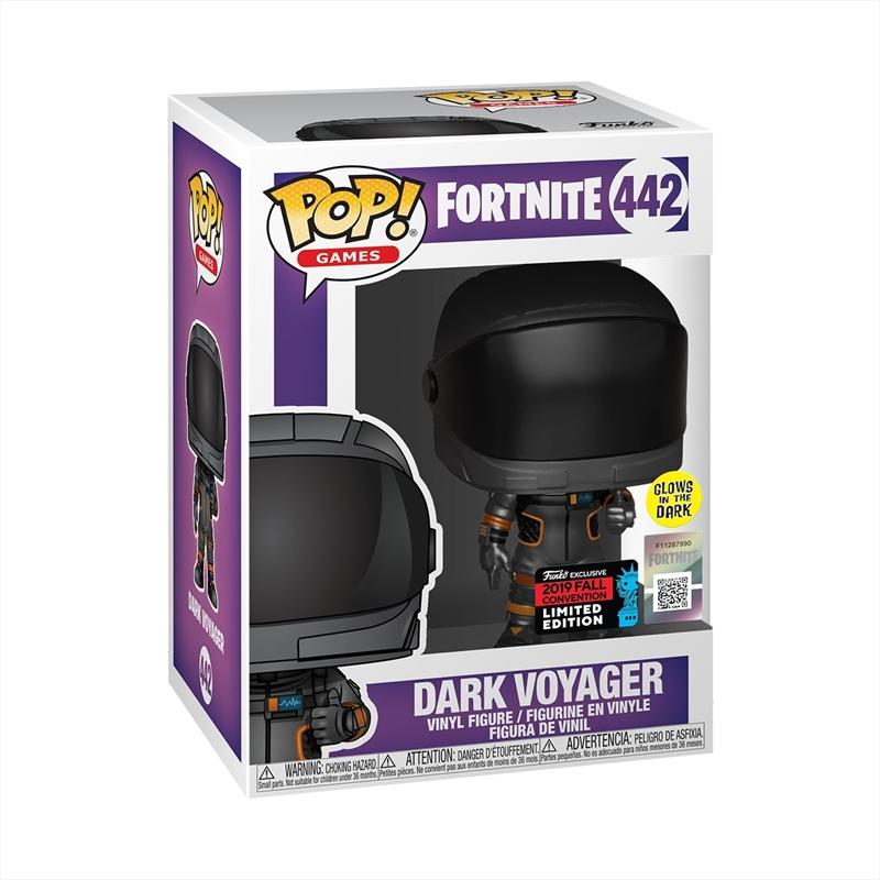 Fortnite - Dark Voyager Metallic & Glow Pop! NYCC19 RS | Pop Vinyl