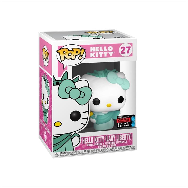 Hello Kitty - Lady Liberty ANNIV Pop! NYCC19 RS | Pop Vinyl