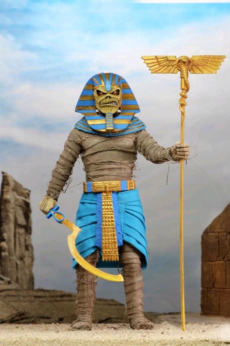 "Iron Maiden - Pharaoh Eddie 8"" Figure | Merchandise"