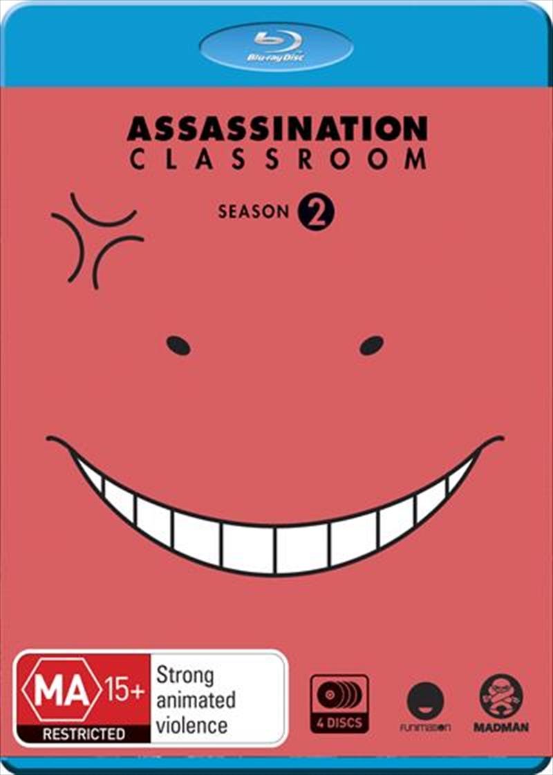 Assassination Classroom - Season 2 | Blu-ray