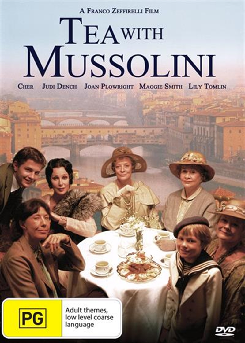 Tea With Mussolini | DVD