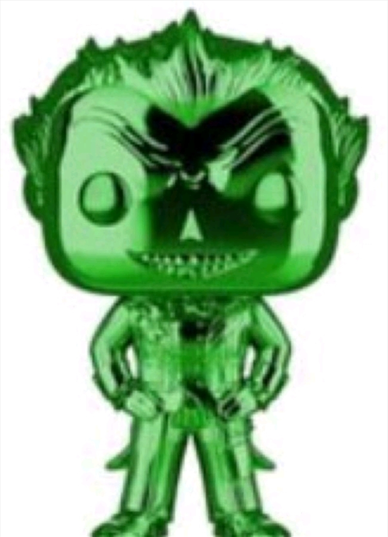 Batman: Arkham Asylum - The Joker Green Chrome US Exclusive Pop! Vinyl [RS] | Pop Vinyl