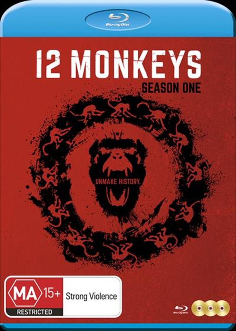 12 Monkeys - Season 1   Blu-ray