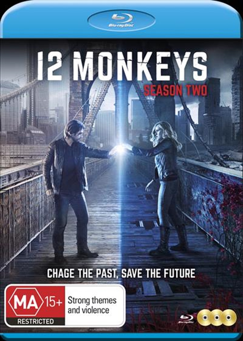 12 Monkeys - Season 2   Blu-ray