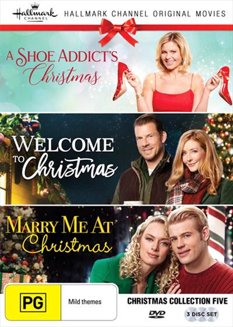 Hallmark Christmas - A Shoe Addict's Christmas / Welcome To Christmas / Marry Me At Christmas - Coll | DVD