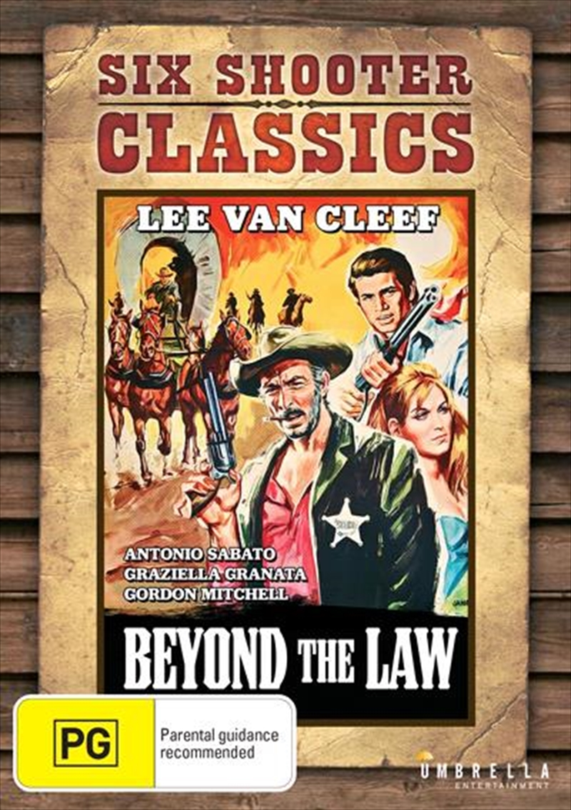 Beyond The Law   Six Shooter Classics   DVD