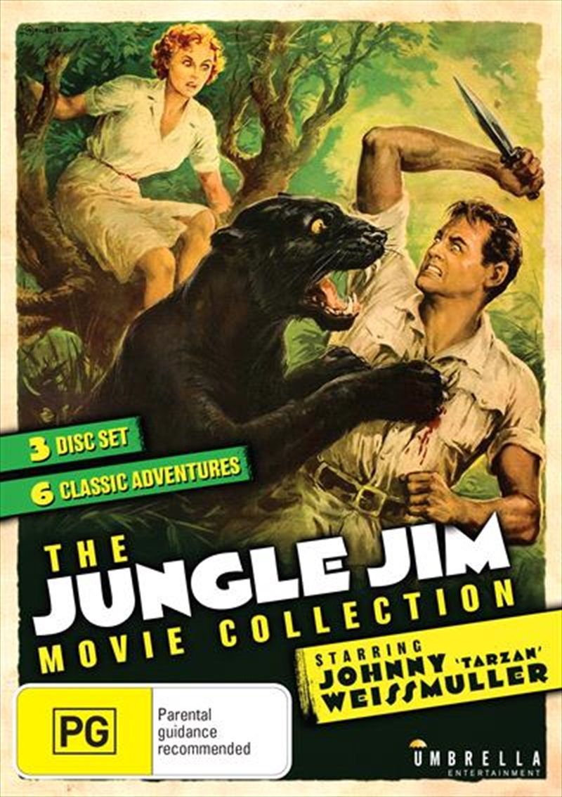 Jungle Jim Movie Collection | DVD