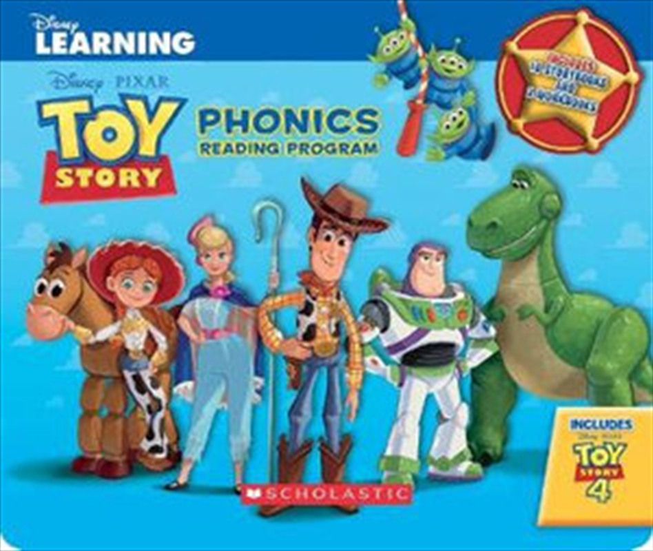 Toy Story: Phonics Reading Program : Disney Pixar | Paperback Book
