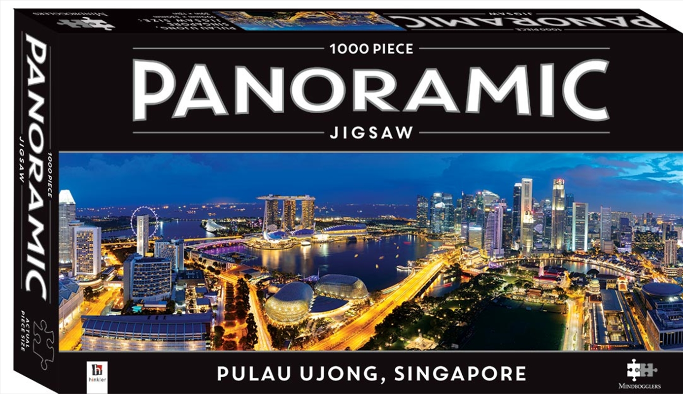 Singapore 1000 Piece Panoramic Puzzle | Merchandise
