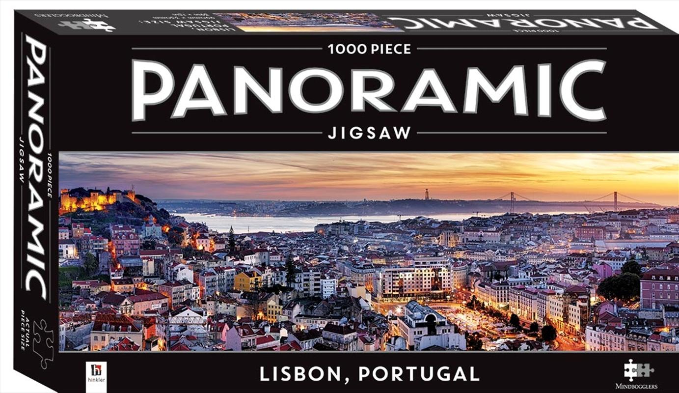 Lisbon 1000 Piece Panoramic Puzzle | Merchandise