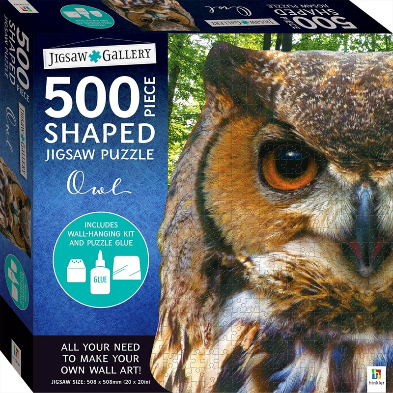 Owl 500 Piece Shaped Jigsaw Puzzle | Merchandise