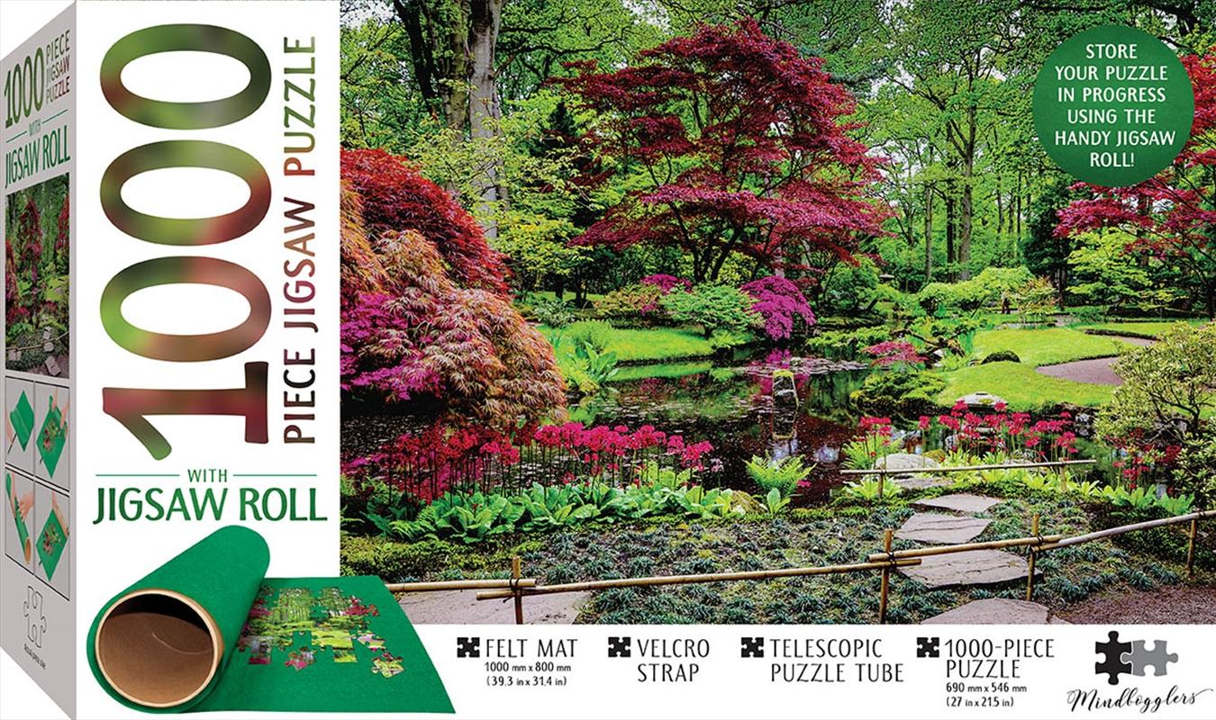 Japanese Garden Jigsaw With Felt Roll | Merchandise