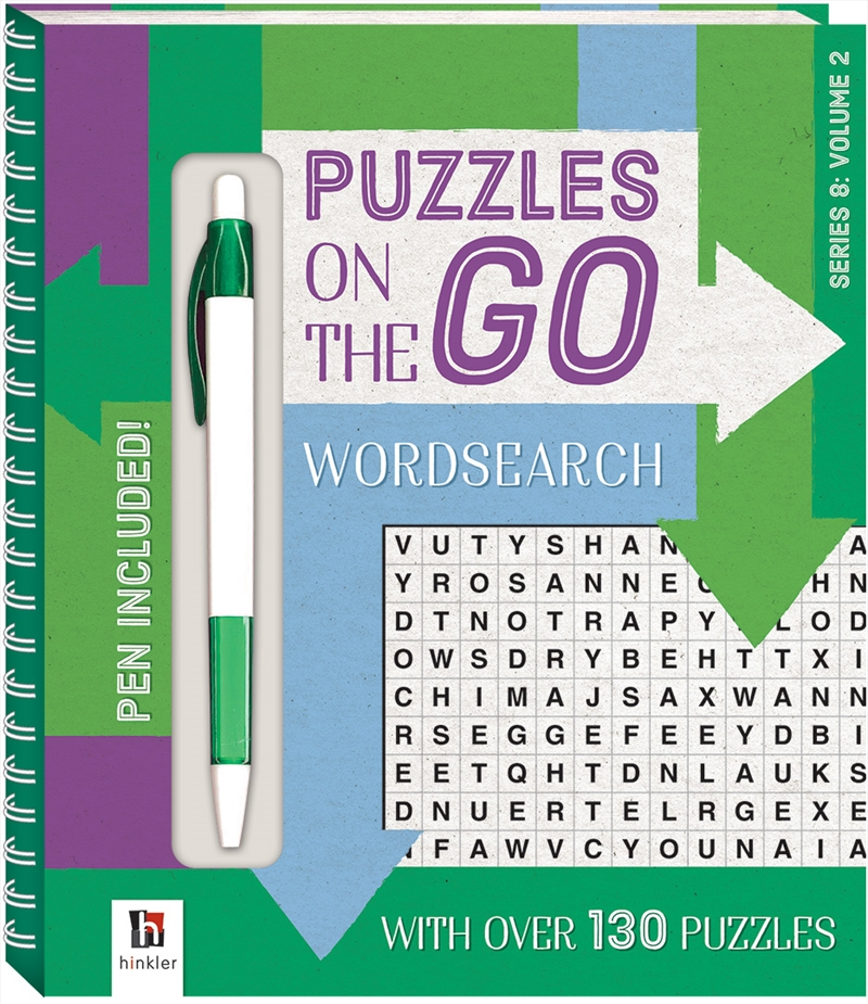 Puzzles on the Go: Wordsearch Series 8 Volume 2 | Paperback Book