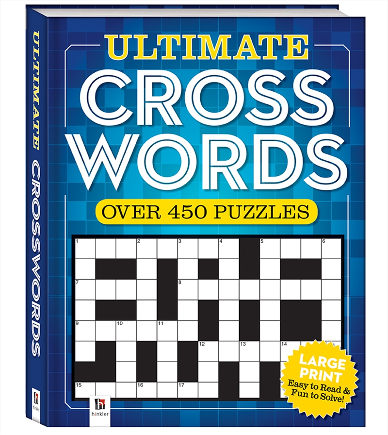 Ultimate Puzzle Book: Crossword | Merchandise