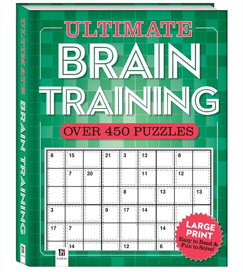 Ultimate Puzzle Book: Brain Training | Merchandise