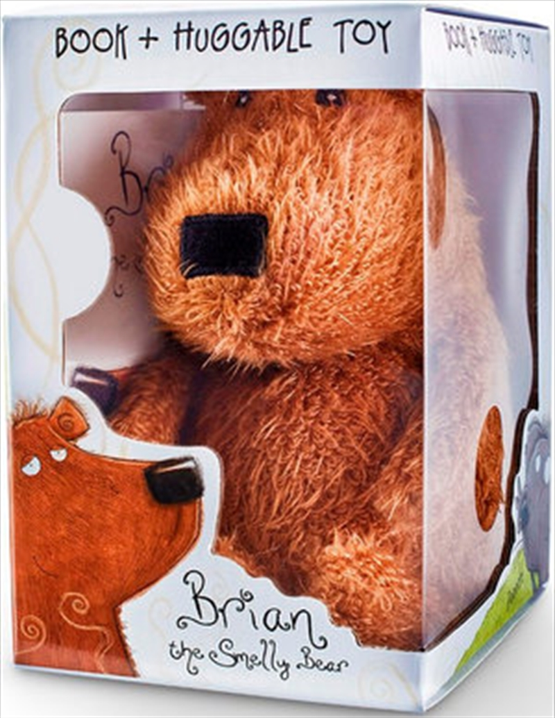 Brian The Smelly Bear - Book & Plush | Hardback Book