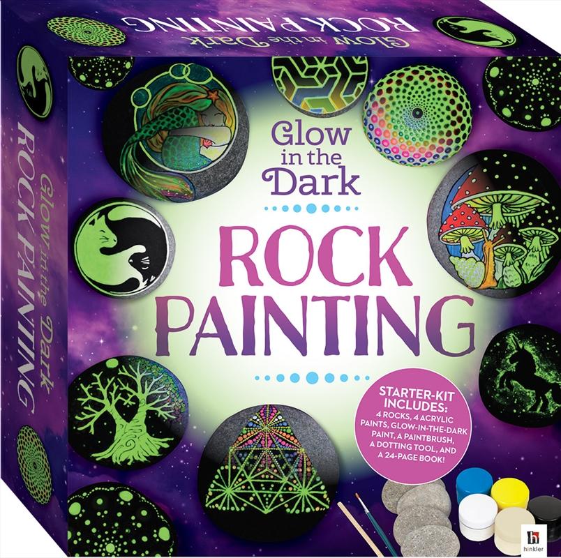 Glow-in-the-Dark Rock Painting Box Set | Merchandise