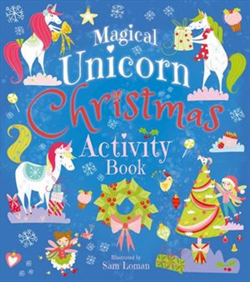 Magical Unicorn Christmas Activity Book | Paperback Book