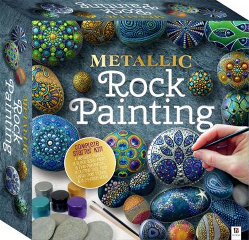Metallic Rock Painting (Tuck Box) | Merchandise