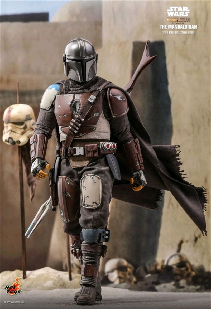 "Star Wars: Mandalorian - The Mandalorian 1:6 Scale 12"" Action Figure | Merchandise"