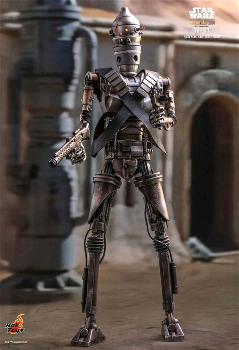 "Star Wars: Mandalorian - IG-11 1:6 Scale 12"" Action Figure 