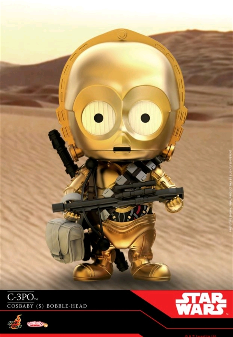 Star Wars - C-3PO Episode IX Rise of Skywalker Cosbaby | Merchandise