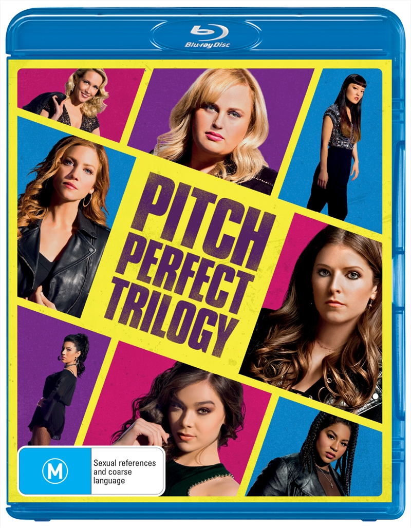 Pitch Perfect / Pitch Perfect 2 / Pitch Perfect 3 - Franchise Pack | Blu-ray