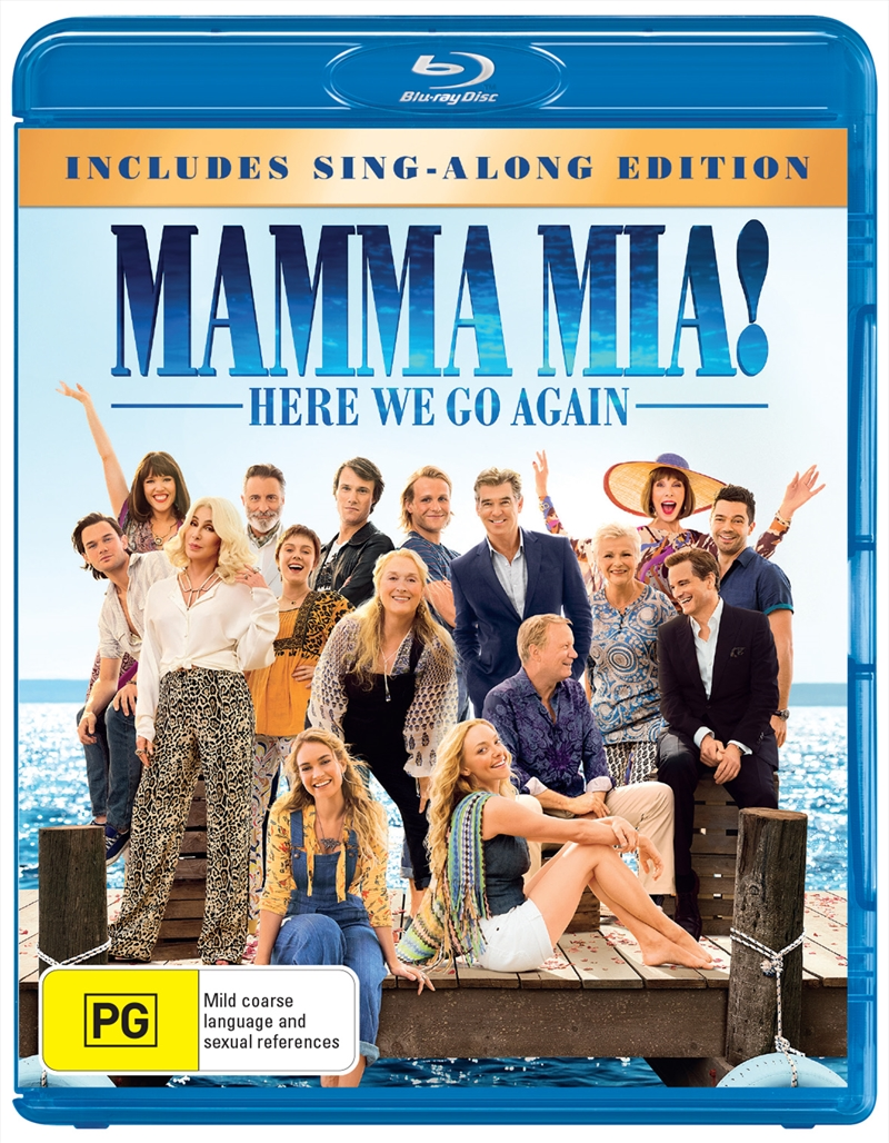 Mamma Mia - Here We Go Again! | Blu-ray