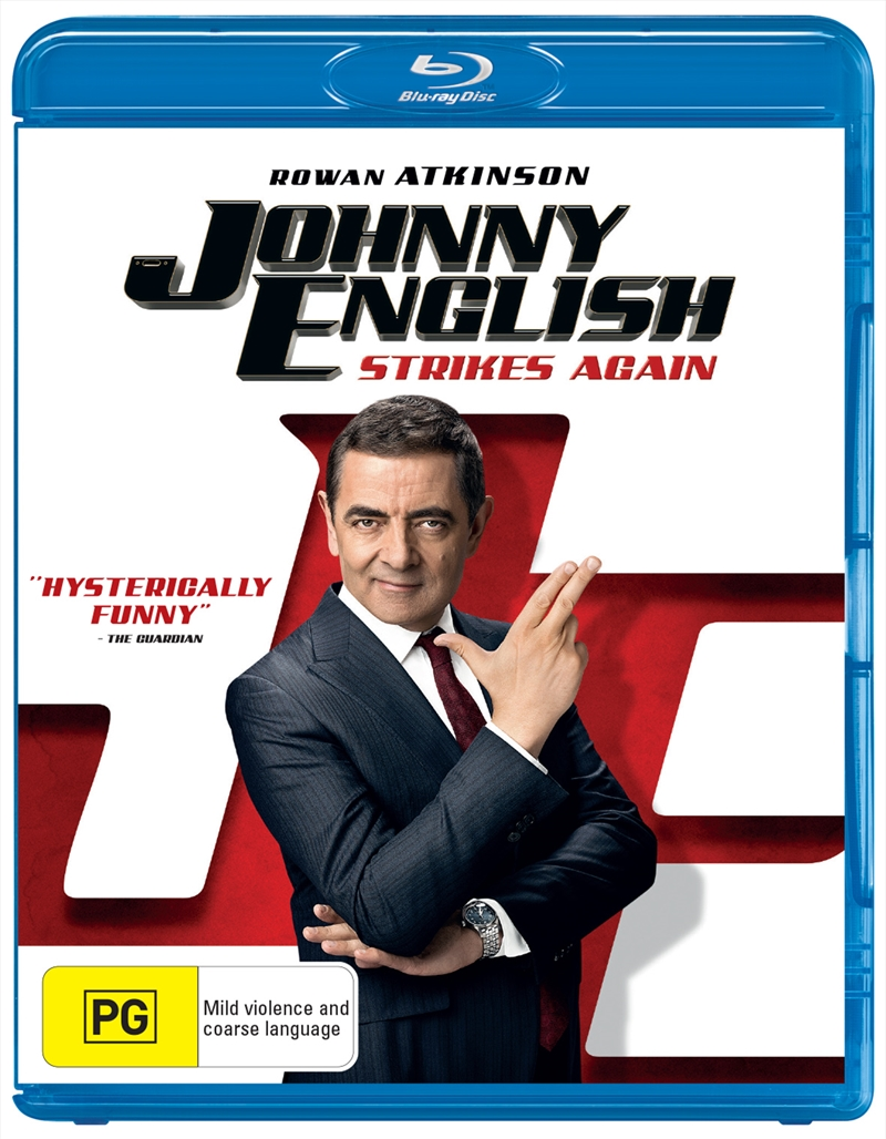 Johnny English Strikes Again | Blu-ray
