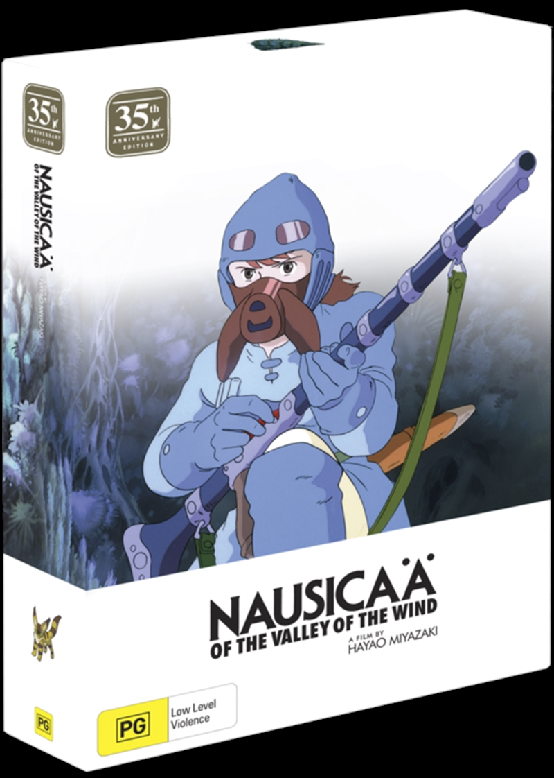 Nausicaa Of The Valley Of The Wind - 35th Anniversary Special Limited Edition | Blu-ray/DVD