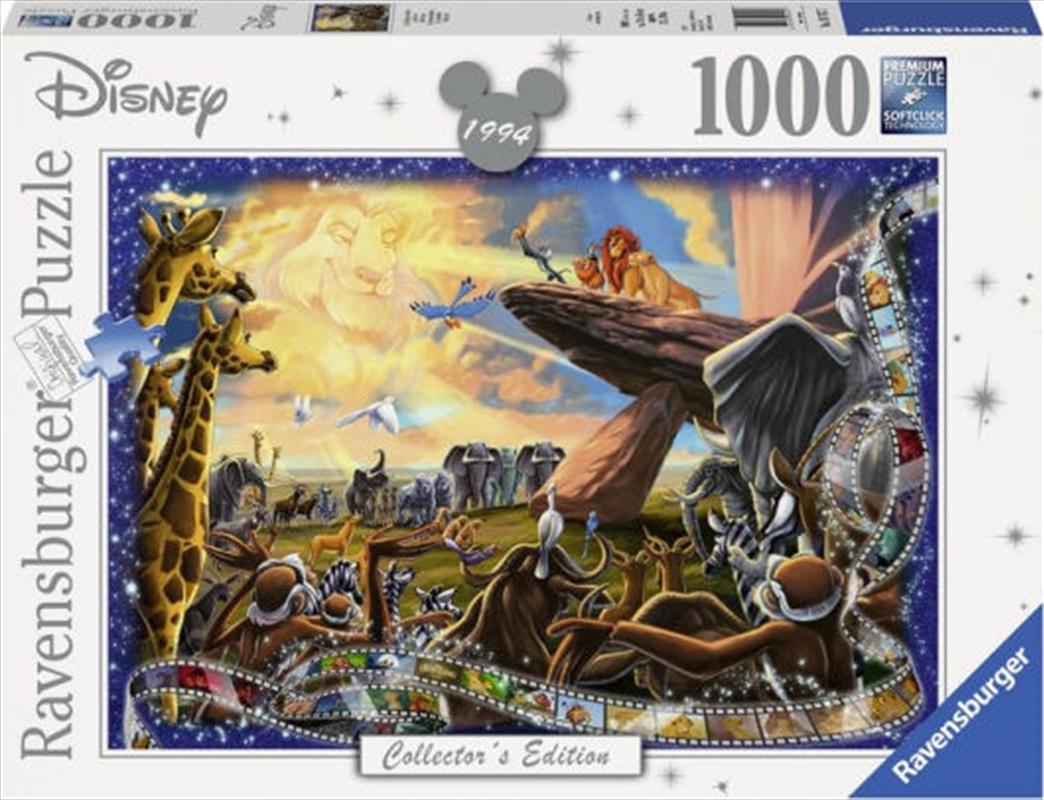 Disney Memories: The Lion King Collector's Edition 1000 Piece Puzzle | Merchandise