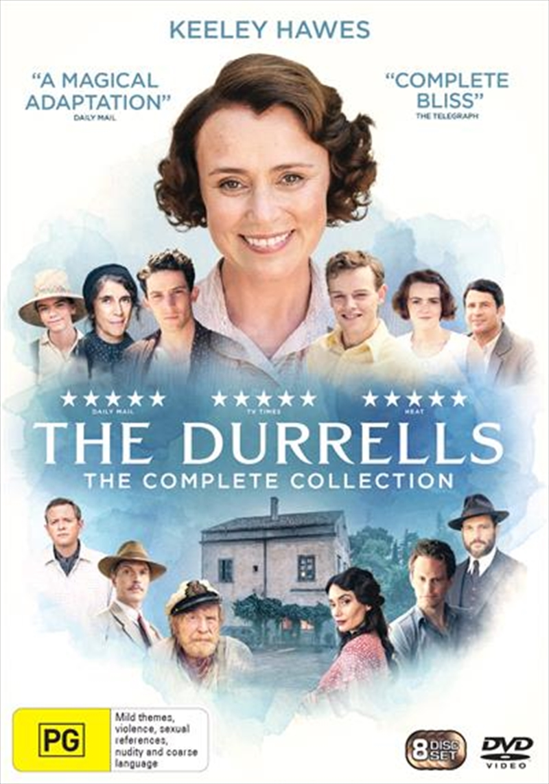 Durrells - Series 1-4 | Complete Collection, The | DVD
