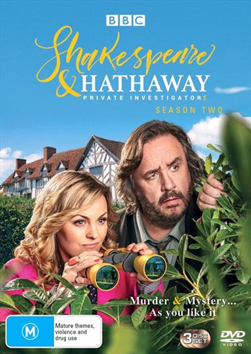 Shakespeare and Hathaway - Private Investigators - Series 2 | DVD