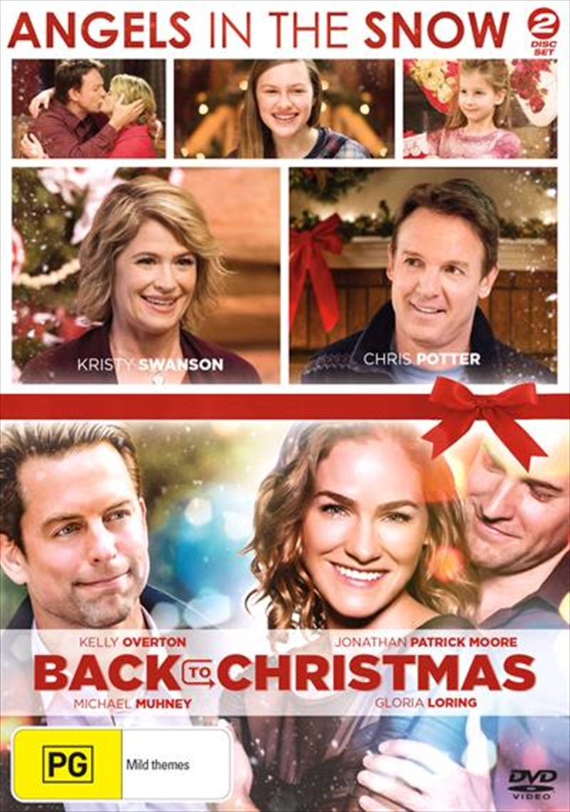 Angels In The Snow / Back To Christmas   DVD