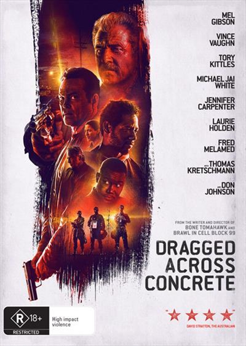 Dragged Across Concrete | DVD