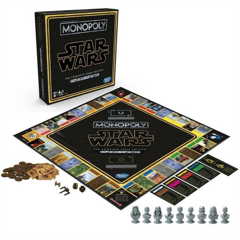 Monopoly Star Wars - Skywalker Saga | Merchandise