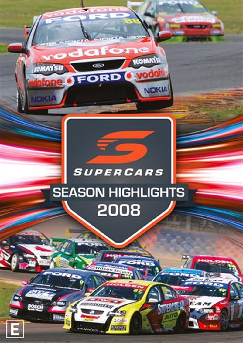 V8 Supercars - Championship Series Highlights - 2008 | DVD