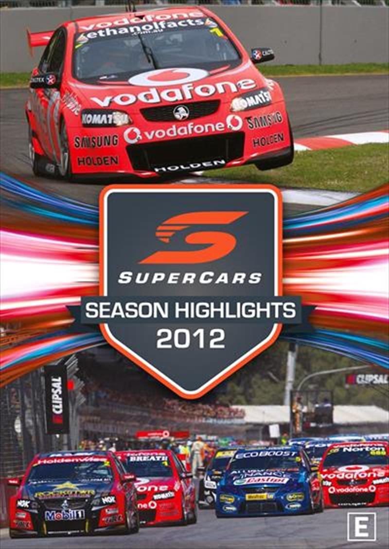 V8 Supercars - Championship Series Highlights - 2012   DVD