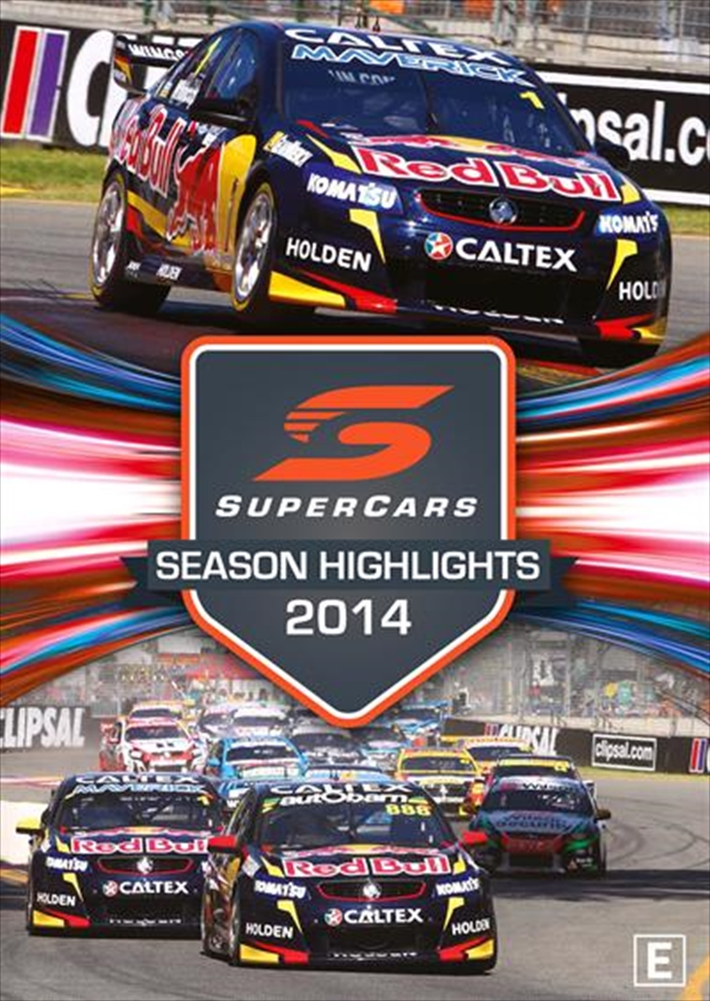 V8 Supercars - Championship Series Highlights - 2014 | DVD