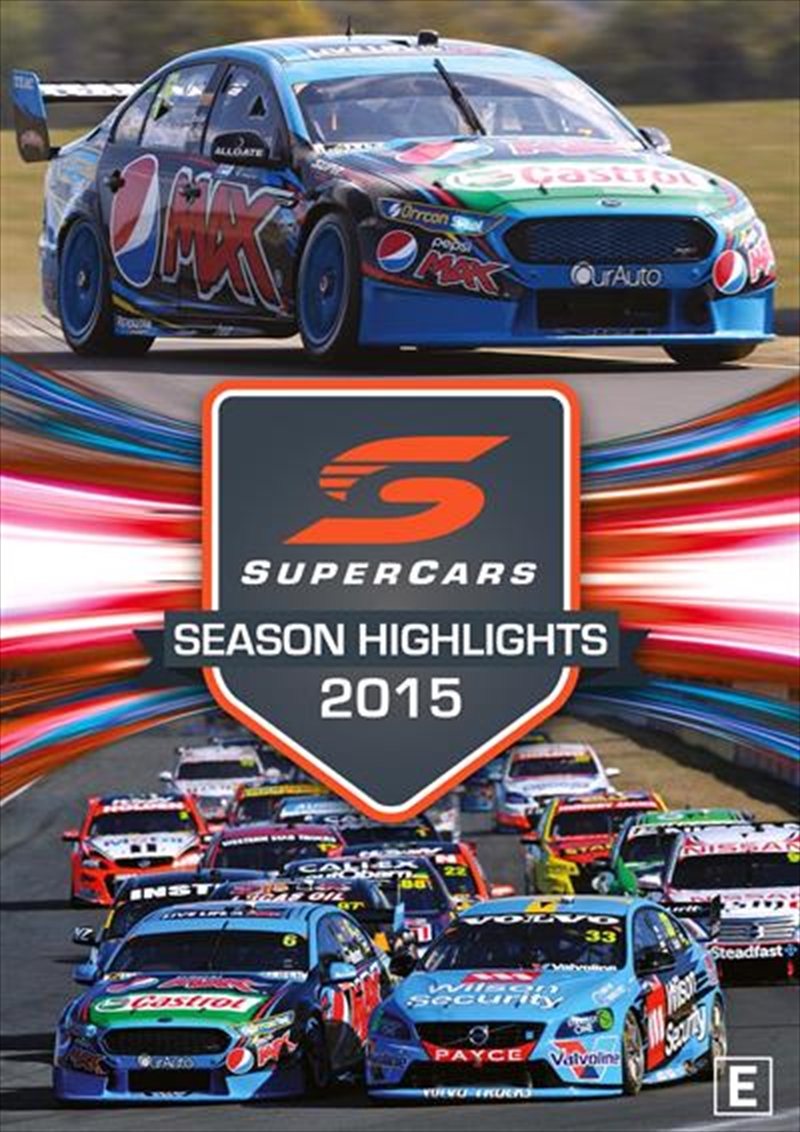 V8 Supercars - Championship Series Highlights - 2015 | DVD