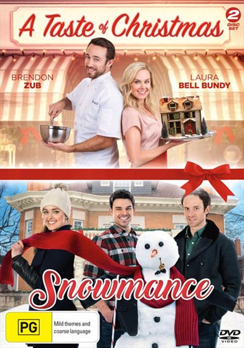 A Taste Of Christmas / Snowmance | DVD