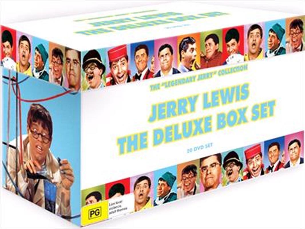 Jerry Lewis Deluxe 20 Movie Boxset   DVD