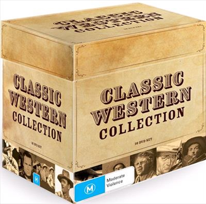 Classic Western Collection - 10 Pack   DVD