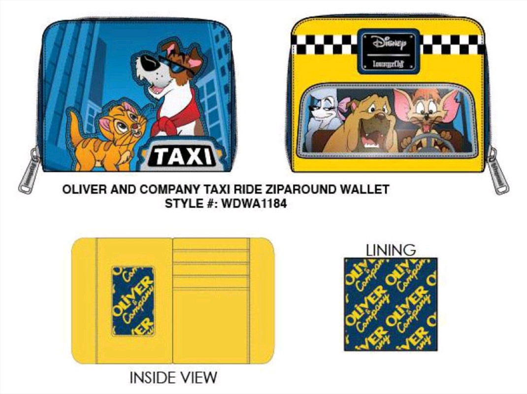 Oliver and Company - Taxi Ride Purse | Apparel