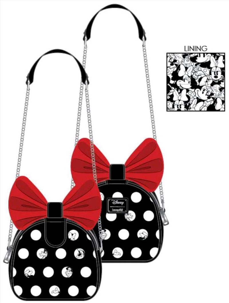 Mickey Mouse - Minnie Big Red Bow Crossbody Bag | Apparel