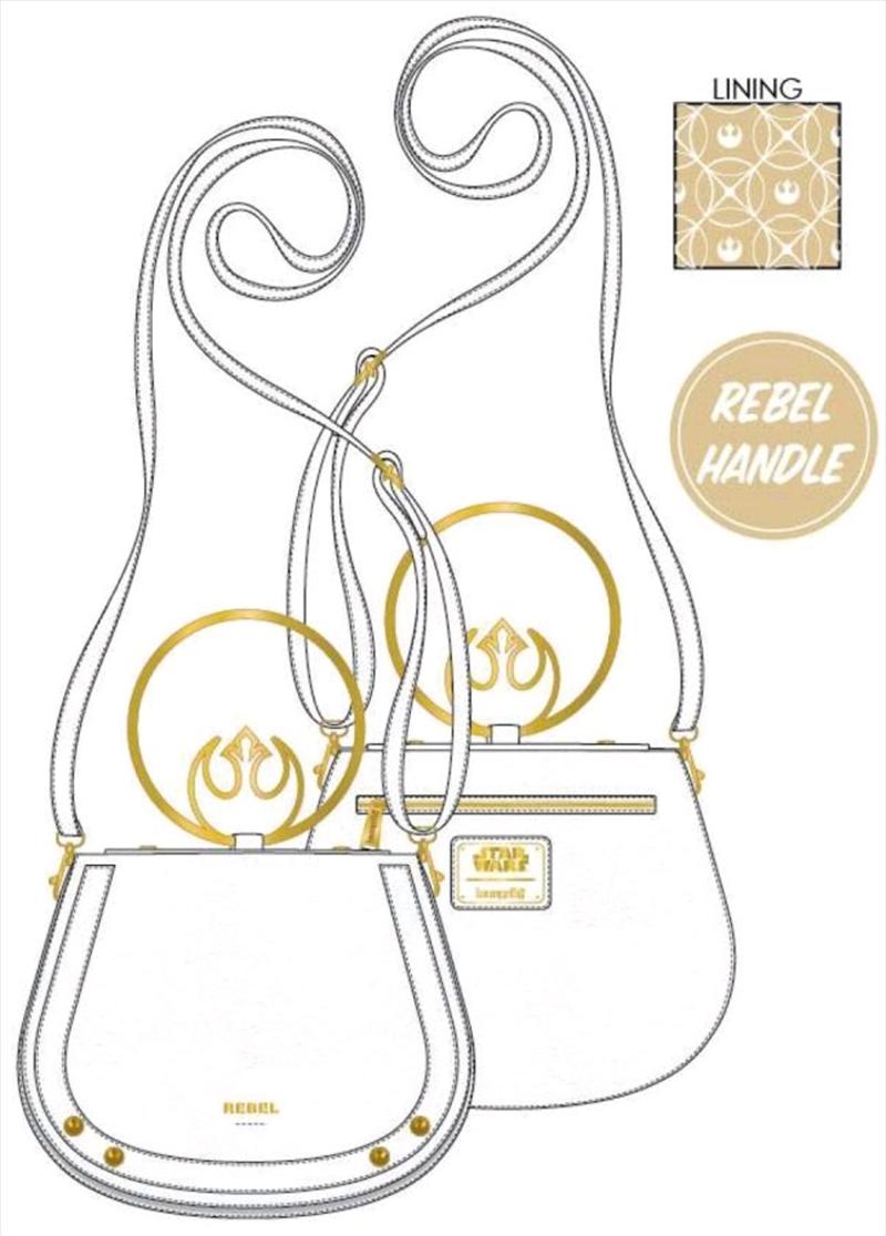 Star Wars - Rebel Gold Handle Crossbody Bag | Apparel