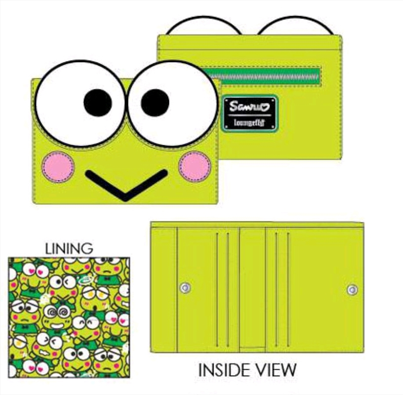 Hello Kitty - Keroppi Purse | Apparel