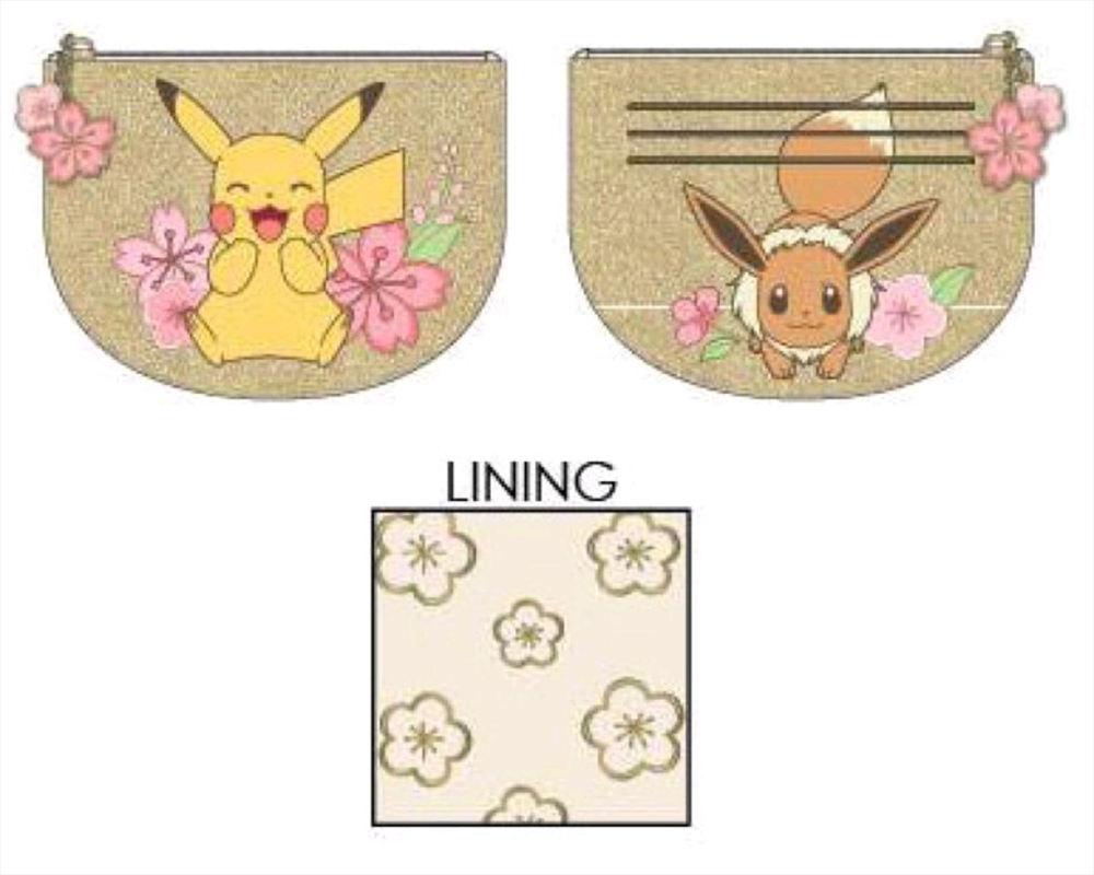 Pokemon - Eevee and Pikachu Card Holder | Apparel